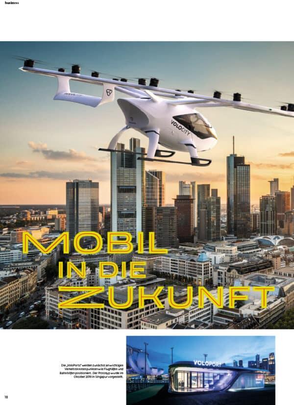 Top Magazin Frankfurt, Ausgabe Sommer 2021 - Mobil in die Zukunft