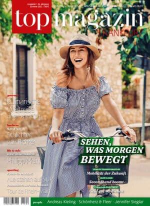 Top Magazin Frankfurt, Ausgabe Sommer 2021