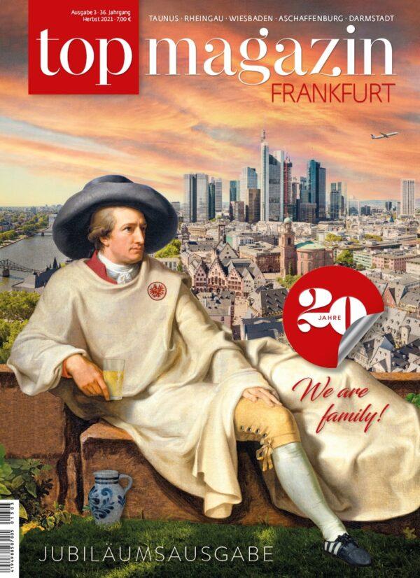 Top Magazin Frankfurt, Ausgabe Herbst 2021