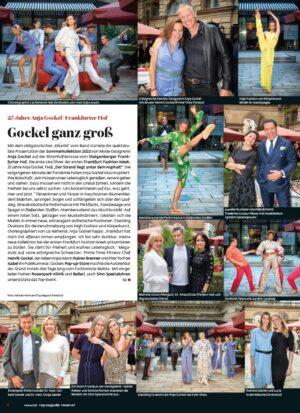 Top Magazin Frankfurt, Ausgabe Herbst 2021, Fashion Week