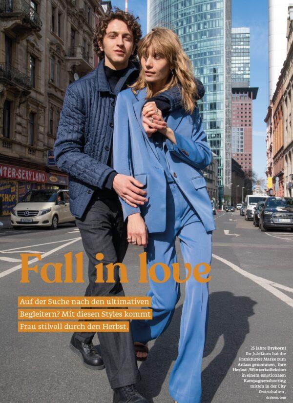 Top Magazin Frankfurt, Ausgabe Herbst 2021, Mode für Männer