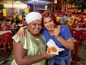 Bahianisches Fastfood: Acarajé