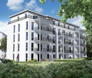 Neuer Gebäudekomplex zwischen Ginnheim und Eschersheim