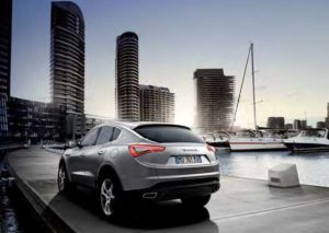 Die Maserati Crossover-Studie Kubang