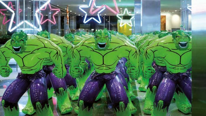 Jeff Koons - The Hulks, Lever House Art Collection