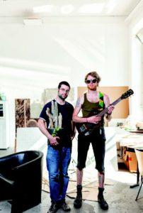 Mit Kaktus, Charme und Gitarre: Jol Thomson und Patrick Keaveney