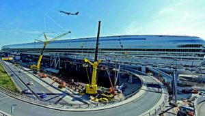 Ein Projekt von Claus Eisele: The Squaire am Flughafen Frankfurt