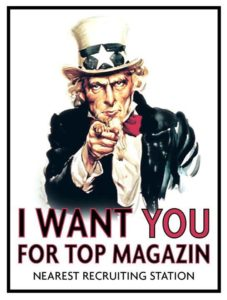 I want you for Top Magazin