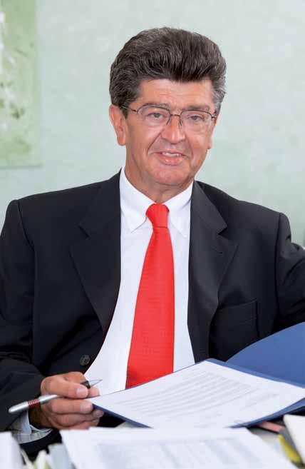 Gerhard Blum, Geschäftsführer von Bernhard Bauträger