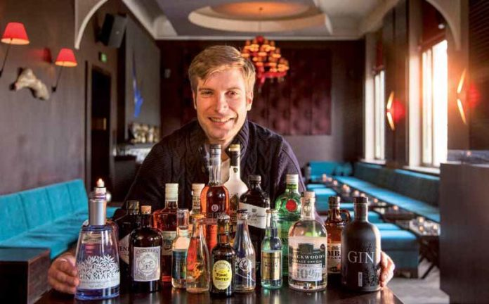 Gin-Experte Sascha Jockovic, Kameha Suite Frankfurt