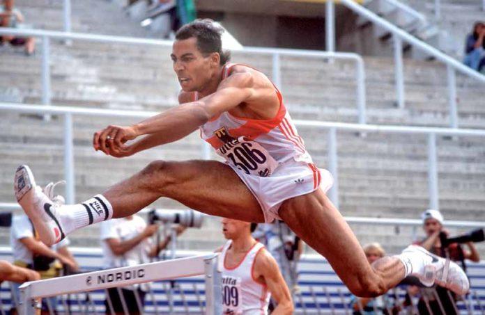 Edgar Itt bei der Leichtathletik-EM 1990 in Split