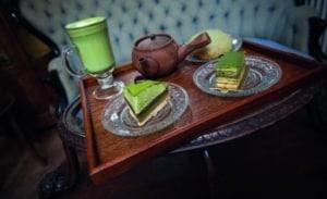 Grüner Tee Torte aus der Frankfurter Pâtisserie Imori