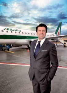 Pierfrancesco Carino, Alitalia-Manager für Deutschland, Österreich und die Schweiz