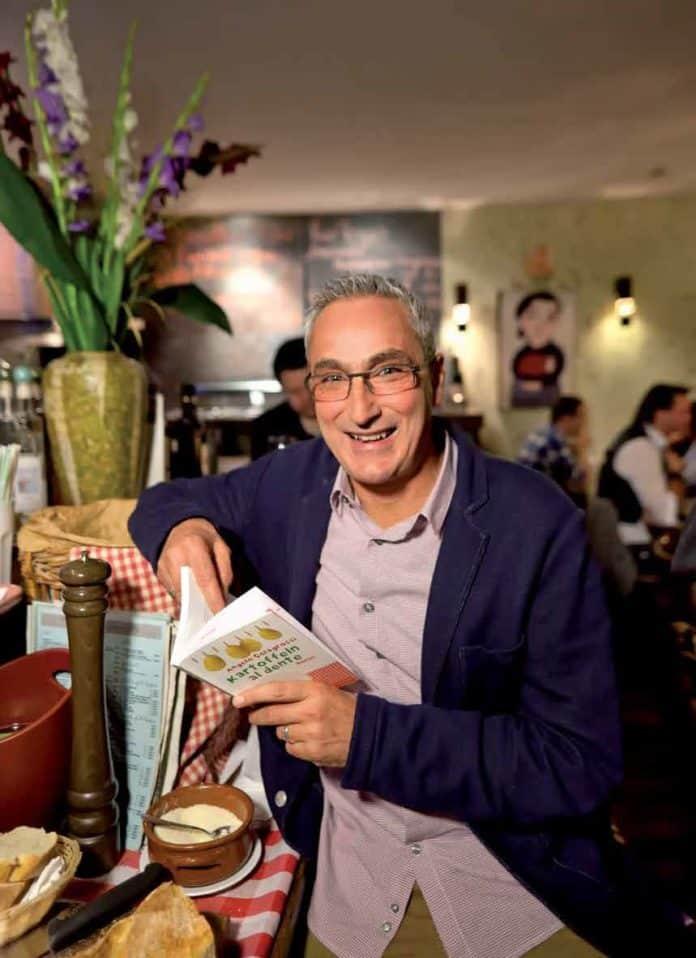 Schriftsteller, Drehbuchautor und Produzent Angelo Colagrossi