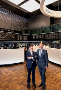 Thomas Fühser, Head of Advisory Desk und Michael Rietheimer, Director im Center Frankfurt