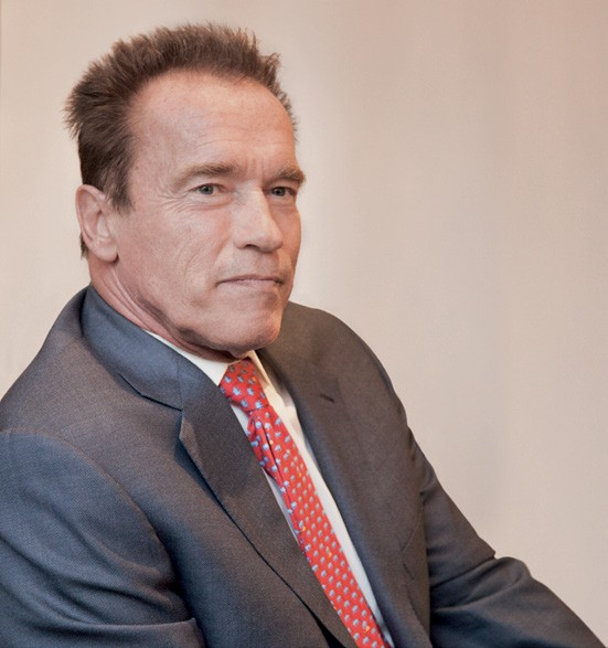 Arnold Schwarzenegger: Der Terminator trägt Prada!