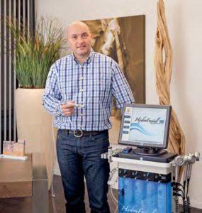 Dermedis-Geschäftsführer Rainer Hoss