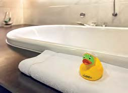 Entspannt baden im Lufthansa First Class Terminal