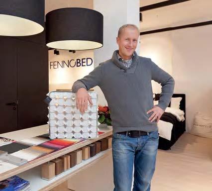 Robert Smieskol, Storeleiter der Fennobed Dependance in Wiesbaden.