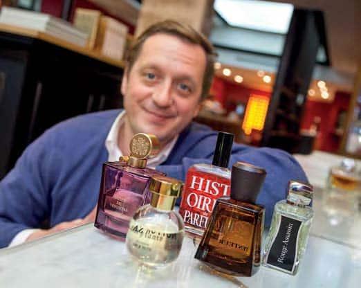 François Henin, Parfumerie Jovoy