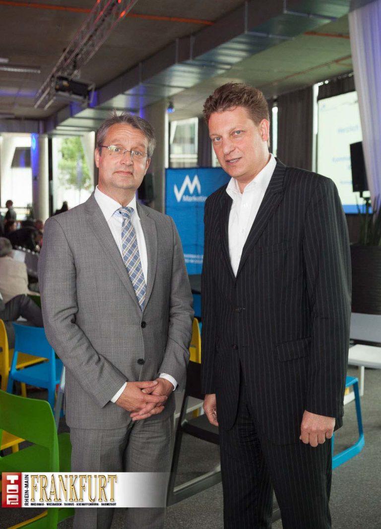 Marketing Club Frankfurt begrüsst Gabor Steingart im Westhafen Pier 1