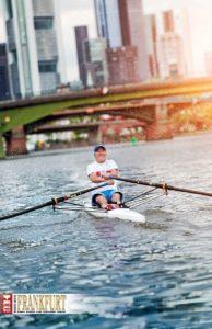 Sobald ich auf dem Wasser bin, gibt es nur mich, mein Boot und meine Gedanken.