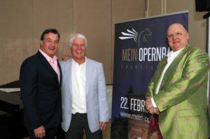 Marc Marshall, Thomas M. Stein und Thomas Bäppler-Wolf, besser bekannt als Bäppi La Belle sollen dem in die Jahre gekommenen Opernball zu neuem Glanz verhelfen.