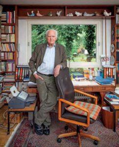 """Prof. Hilmar Hoffmann: """"Das wichtigste Museum für Frankfurt zu bauen, das Museum für Weltkulturen, ist mir leider nicht gelungen."""""""