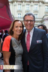 Dr. h.c. Hans-Joachim Otto (Parlamentarischer Staatssekretär beim Bundesminister für Wirtschaft und Technologie und Koordinator der Bundesregierung für die Maritime Wirtschaft) frisch verheiratet mit Sabine Otto-Just