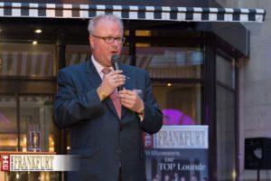 Finanzminister des Landes Hessen Dr. Thomas Schäfer überbrachte den 500 Gästen einen Gruß der Landesregierung