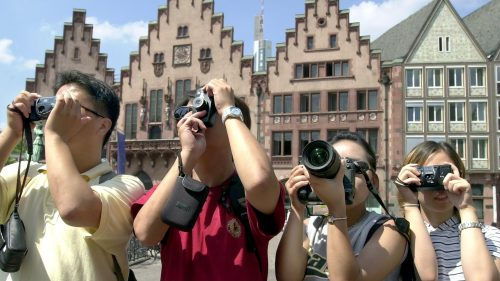 Touristen lieben Frankfurt
