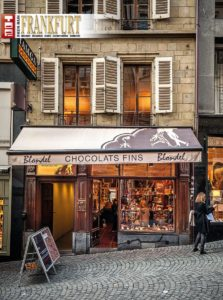 Chocolaterie Blondel in Lausanne