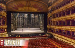 Das Auditorium des Bolschoi Theaters