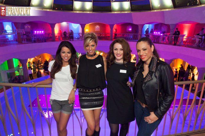 Frauenpower pur Sängerin Fernanda Brandao, Playmate Julia Gaba, Boxerin Ina Menzer und Sängerin Natascha Wright