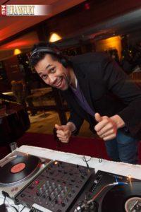 DJ Dennis Smith heizte den Gästen in der Silhouette ein