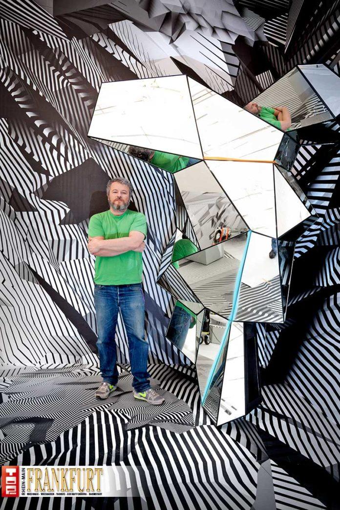 Tobias Rehberger mit einer Arbeit von 2008 Unerfreuliches aus Diskobay
