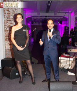 Die Geschäftsführerin der Klassikstadt Brigitte Schlüter begrüßte zusammen mit Top Magazin-Geschäftsführer Michael Ruiss die Top Lounge-Gäste.