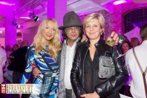 Irena Brncic, Ardi Goldman und Anette von Zitzewitz (von Zitzewitz Kommunikation)