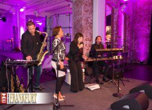 SNAP-Sängerin Penny Ford bei ihrem Spontan-Auftritt