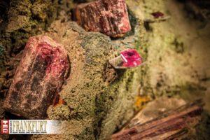 Die Lieblingssteine von Hans Stern - Turmaline - gibt es in vielen Farbfacetten.