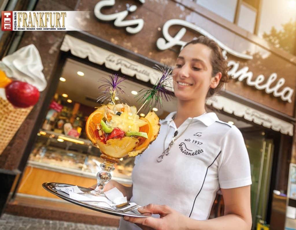 Die Familie Fontanella eröffnete in den 30er Jahren Frankfurts erstes Eiscafé.