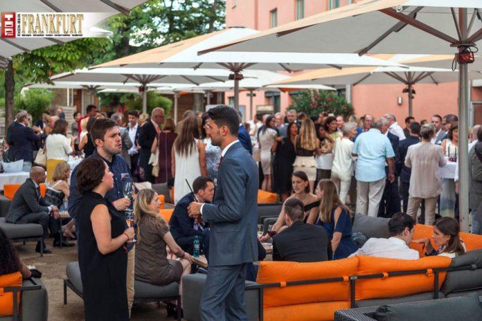Die historische Gerbermühle bot die perfekte Sommerkulisse für die TOP Lounge