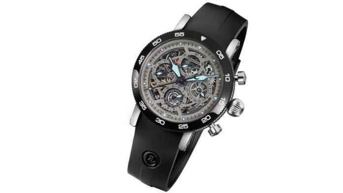 Chronoswiss Timemaster Skeleton Chronograph