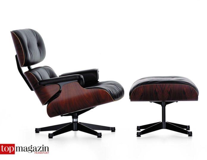 Eames Lounge Chair und Ottoman (1956)