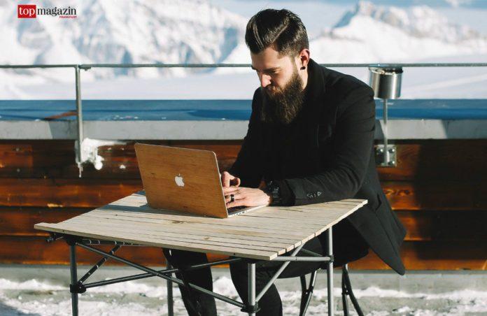 Echtholz-Styling für das MacBook