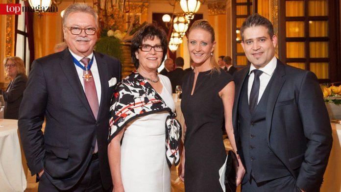 Hans-Dieter Brenner mit Gattin Ursula, Sohn Thomas und zukünftiger Schwiegertochter Hanna Mielisch