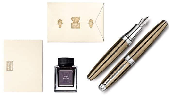 Louis Vuitton und Caran d'Ache Léman Caviar
