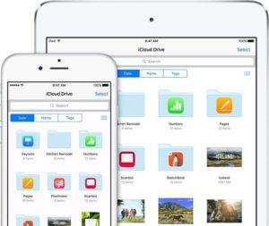 iCloud Drive lässt sich unter iOS 9 jetzt auch direkt auf dem Homescreen als Icon platzieren.
