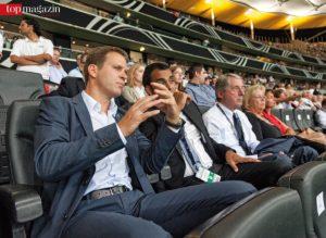 All work, all play - der Manager der Nationalmannschaft, Oliver Bierhoff, im Gespräch mit Robin Dutt.