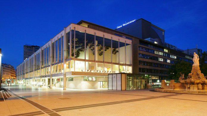Aussenansicht der Oper Frankfurt